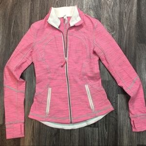 Lululemon Pink Zip Jacket